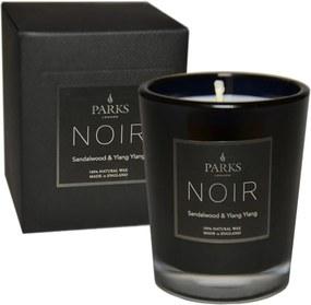 Lumânare parfumată Parks Candles London Noir, aromă lemn de santal, durată ardere 22 ore
