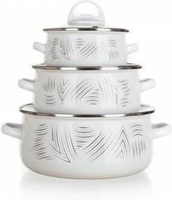 Set vase smălțuite Banquet CHARME,6 buc.