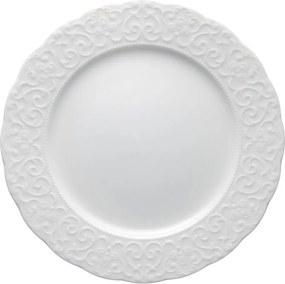 Farfurie din porțelan Brandani Gran Gala, ⌀ 25 cm, alb