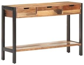321553 vidaXL Servantă, 110 x 35 x 75 cm, lemn masiv cu finisaj de sheesham