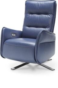 Fotoliu recliner manual Res albastru 79x87x110 cm