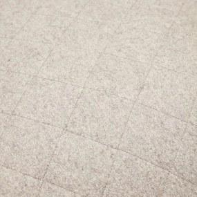 Puf din Lana Gri Patrat - Lana Gri Diametru(50 cm x 50 cm) x Inaltime(35 cm)