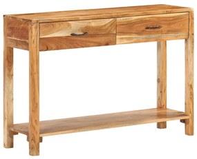 320471 vidaXL Servantă, 110 x 30 x 75 cm, lemn masiv de acacia
