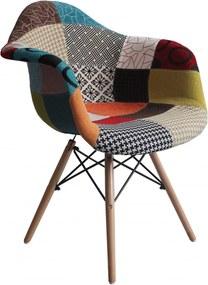 Scaun Living Fin 3445 Textil Multicolor