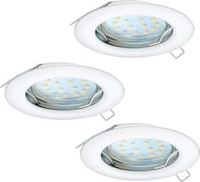 Eglo 94235 - SET 3x Corp de iluminat LED tavan fals PENETO 3xGU10-LED/3W/230V