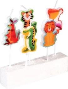 Set 5 lumânări Rex London Colourful Creatures