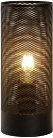 Lucide 03516/01/30 - Lampa de masa BELI 1xE27/60W/230V negru