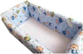Aparatori Maxi Ursi cu albine pe albastru 140x70 cm