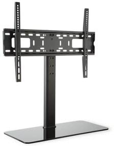 Auna Suport TV, dimensiune L, înălțime 76 cm, înălțime 76 cm, 23-55 inch, suport de sticlă