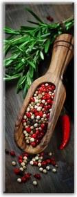 Styler Tablou pe sticlă - Pepper Spoon 30x80 cm