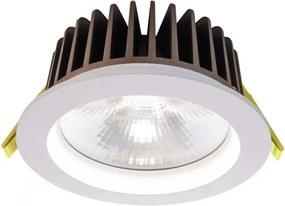 Cob 130 4000 K - Lampă rotundă încastrată din aluminiu