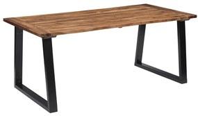 288068 vidaXL Masă de bucătărie, 180 x 90 cm, lemn masiv de acacia