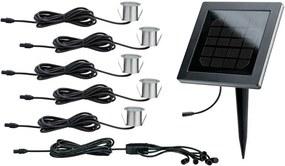 SET 5x corp de iluminat solar de exterior cu senzor LED/0,2W IP67 12V Paulmann 93767