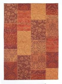 Covor Flair Rugs Patchwork Chennile Terracotta, 155 x 230 cm, roșu