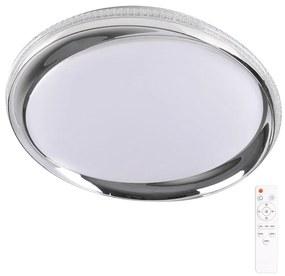 Lumină de tavan cu reglaj LED GLOSSY 2xLED /36W/230V IP44 + RC