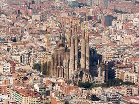 Bimago Fototapet - Sagrada Família, Barcelona 200x154 cm