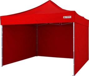 Cort pavilion pliabil 3x3m - Roșu