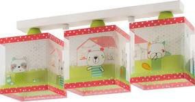 Dalber My Sweet Home 11673 Plafoniere pentru copii alb plastic 3 x E27 max. 60W