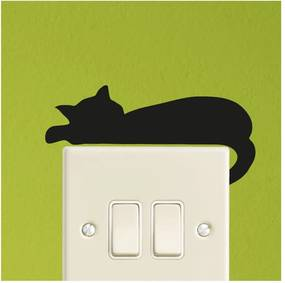Autocolant Ambiance Sleeping Cat Mini