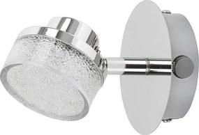 Aplica tip spot LED 5W crom-cristal Padma Rabalux 5635