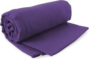 Prosop Fitness DecoKing Ekea, violet, 70 x 140 cm
