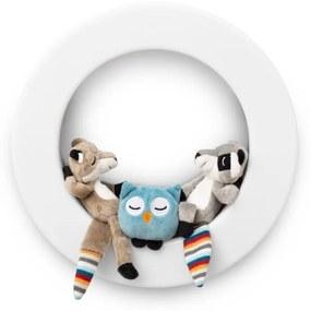 Zazu Kids - Lampa de veghe pentru perete Fay, Rex si Otis