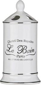 Suport din ceramică pentru periuțe Premier Housewares Le Bain White