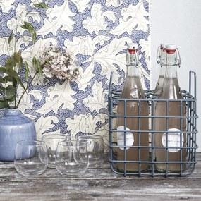 Vaza Ceramica Albastra Eg - Ceramica Albastru Diametru 13cm x Inaltime 15cm