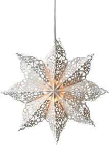 Markslöjd 702560 - Decorațiune de crăciun HALL 1xE14/25W/230V alb 70 cm