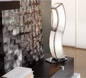 Mantra 0396 Veioze, Lampi de masă DUNA crom metal 2xE27 max. 13 W IP20
