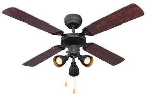 Globo 03808 - Ventilator de tavan HARVEY 3xGU10/50W/230V