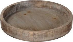 Tava Nature din lemn maro 36x4.5 cm