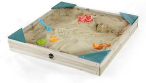 Plum - Cutie de nisip Junior din Lemn