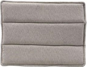 Perna pentru Sezut Scaun din Bumbac Gri Lounge - Bumbac Gri Lungime(48 cm) x W(55 cm)