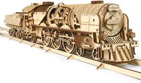 Tren decorativ V-Expres cu tender