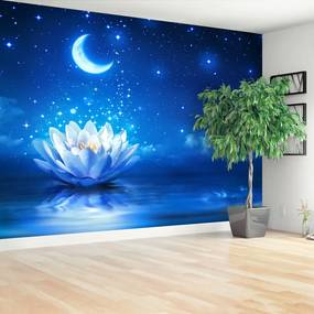 Fototapet Lotus Moon