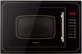 Klarstein Victoria 25, cuptor cu microunde încorporabil, 25 l, 900 W, grill: 1000 W, negru