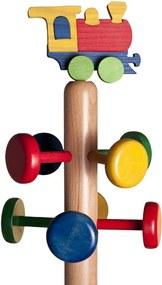 Cuier copii tip pom cu jucărie Trenuleţ