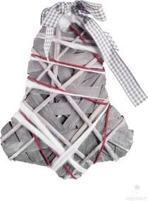 Decorațiune suspendată - clopoțel Ego Dekor, înălțime 39 cm