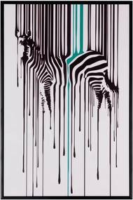 Tablou Sømcasa Zebra, 40 x 60 cm