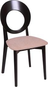 Set 2 scaune COSMO, Wenge/Misty Beige