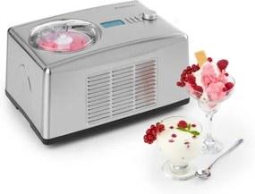 Klarstein YO & YUMMI, aparat pentru producerea de înghețată și iaurt înghețat, 2 în 1, 150 W, 1,5 l, oțel inoxidabil