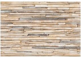 Fototapet lemn vopsit alb Shabby Chic