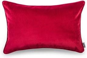 Față de pernă roșie WeLoveBeds Elegant Burgundy, 40 x 60 cm