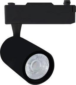 Downlight Sina Track Light 12W Black 3000K Milagro Modern, LED, Negru, ML3912, Polonia