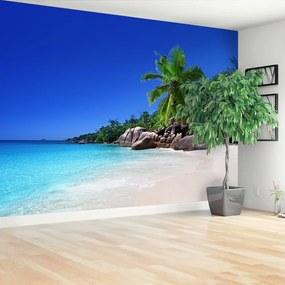 Fototapet Seychelles Beach