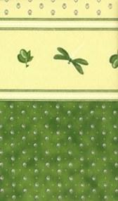 Fata de masa Franta 160x160cm 409-34 Libellule color vert