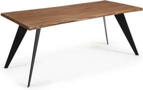 Masă din lemn La Forma Nack, 180 x 100 cm