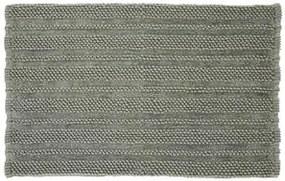 Covor baie Nea kaki verde / cenușiu, 80x120 cm