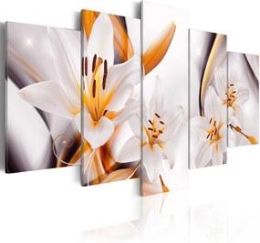 Bimago Tablou - Lilium regale 100x50 cm